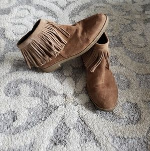 Mossimo Supply Co Fringe Booties